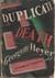 Duplicate Death (Inspectors Hannasyde & Hemingway #7) by Georgette Heyer