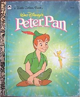 A Little Golden Book Walt Disney's Peter Pan