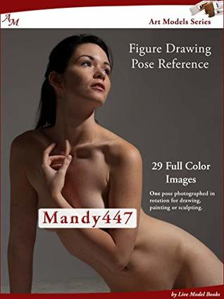 Art Models Mandy447: Figure Drawing Pose Reference