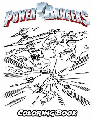 Power Rangers Coloring Book: Coloring Book for Kids and Adults ...