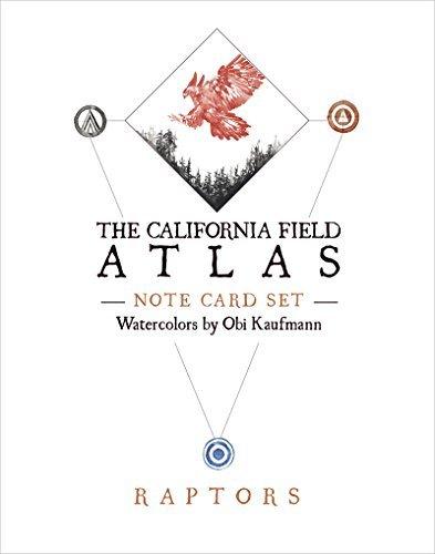 The California Field Atlas Note Card Set: Raptors