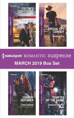 Harlequin Romantic Suspense March 2019 Box Set