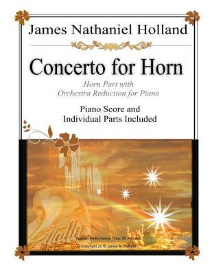 Concerto for Horn: Horn Part with Orchestra Reduction for Piano