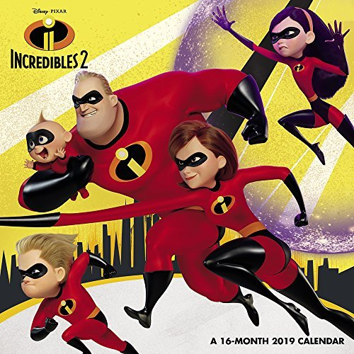 Incredibles 2 Mini Wall Calendar (2019)