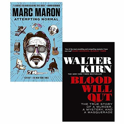 Attempting Normal, Blood Will Out 2 Books Collection Set