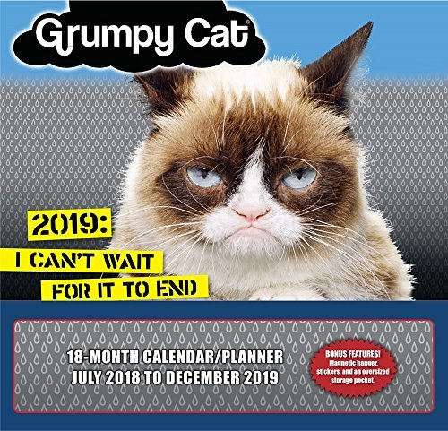 2019 Grumpy Cat 18-Month Wall Calendar/Planner: By Sellers Publishing