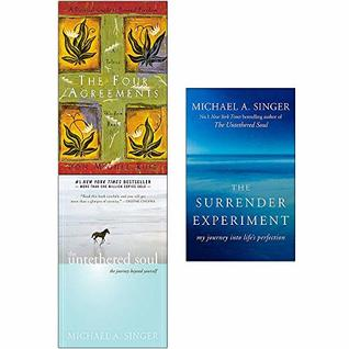 The Four Agreements, Untethered Soul, The Surrender Experiment 3 Books Collection Set