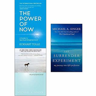 The Power of Now, Untethered Soul, The Surrender Experiment 3 Books Collection Set