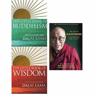 Dalai Lama Collection 3 Books Set (The Little Book Of Buddhism, The Little Book Of Wisdom, Art Of Happiness)