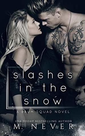 Slashes in the Snow  by M. Never
