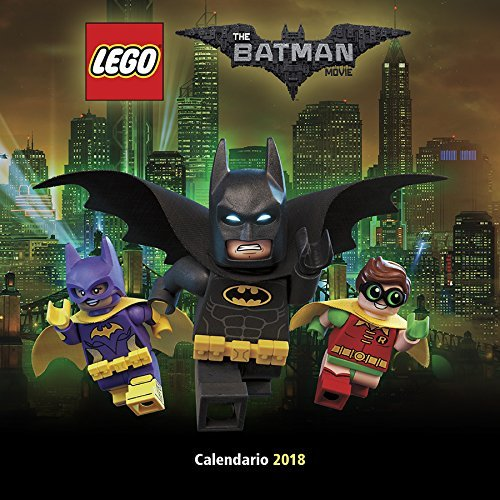 The Lego Batman Movie 2018 Wall Calendar Mexico Wall Calendar
