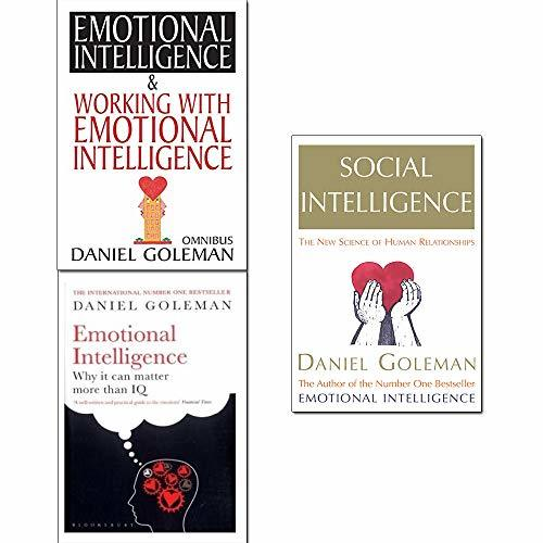 Daniel Goleman Collection 3 Books Set