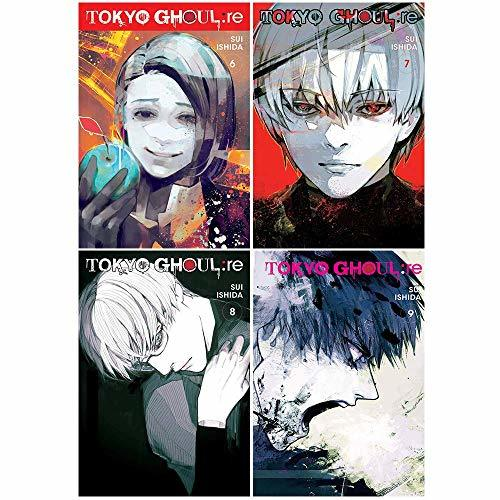 Tokyo Ghoul Re Vol 6-9 4 Books Collection Set By Sui Ishida