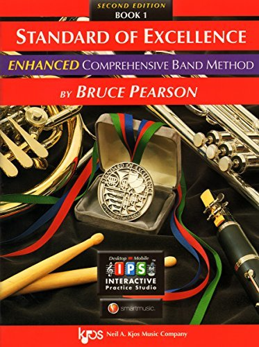Standard of Excellence Enhanced Book 1 Baritone Saxophone