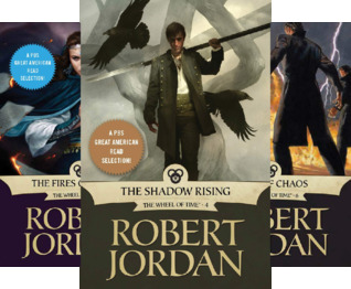 The Wheel of Time, Books 4-6: The Shadow Rising, The Fires of Heaven, Lord of Chaos (3 Book Series)