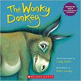 The Wonky Donkey Book and CD