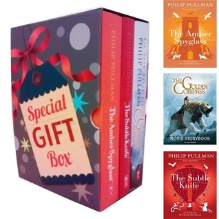 Phillip Pullman Collection His Dark Materials Series Special Gift Box 3 Books Bundle