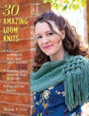 f911f5b00c9 30 Amazing Loom Knits  Patterns for Scarves