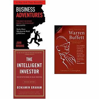 Business Adventures, Intelligent Investor, The Essays of Warren Buffett 3 Books Collection Set