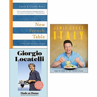 New French Table, Made At Home, Jamie Cooks Italy 3 Books Collection Set