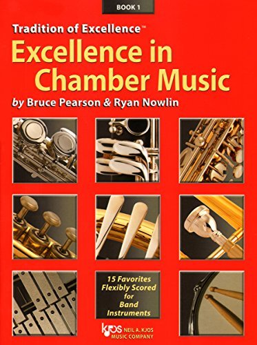 W40XE - Excellence in Chamber Music Book 1 - Eb Alto Saxophone Eb Baritone Saxophone