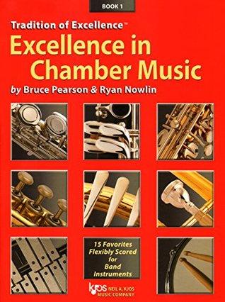 W40XE - Excellence in Chamber Music Book 1 - Eb Alto Saxophone Eb Baritone Saxophone