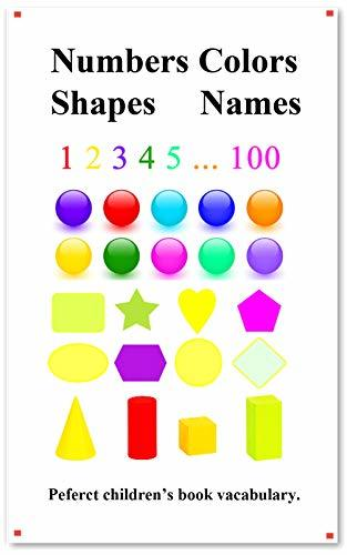 Numbers Colors Shapes Names: Picture 100 Numbers Colors Shapes