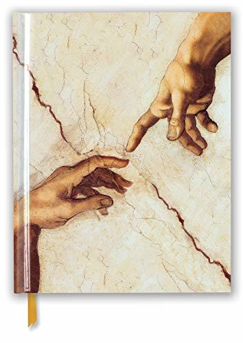 Michelangelo: Creation Hands (Blank Sketch Book) (Luxury Sketch Books)
