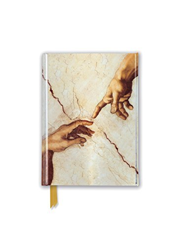 Michelangelo: Creation Hands (Foiled Pocket Journal) (Flame Tree Pocket Books)