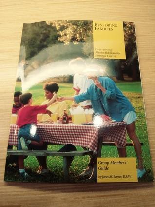 Restoring Families group member's guide
