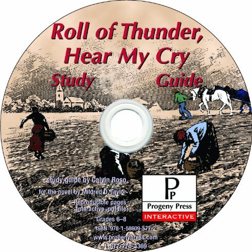 Roll of Thunder, Hear My Cry Study Guide CD-ROM