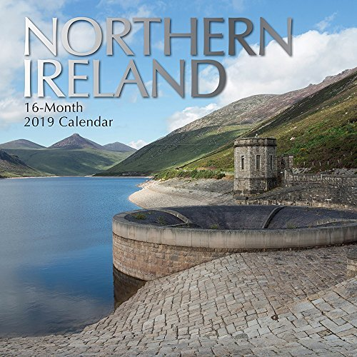 Northern Ireland 2019 Square Wall Calendar