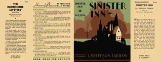 sinister inn by J. Jefferson Farjeon