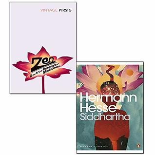 Zen And The Art Of Motorcycle Maintenance and Siddhartha 2 Books Collection Set