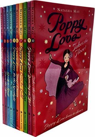 Natasha May Poppy Love 10 Books Collection Set