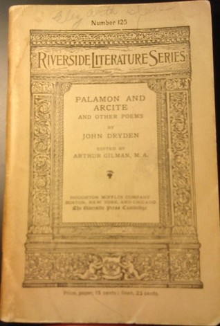 Palamon and Arcite and Other Poems (Riverside Literature Series #125)