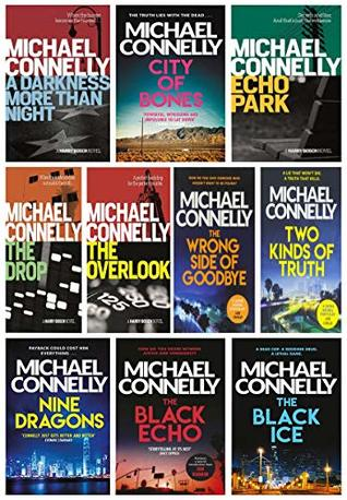 Michael Connelly Harry Bosch Series 10 Books Collection Set