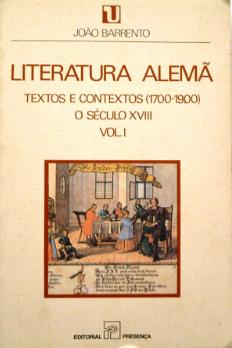 Literatura Alemã, Textos e Contextos (1700-1900): o Século XVIII (#1)