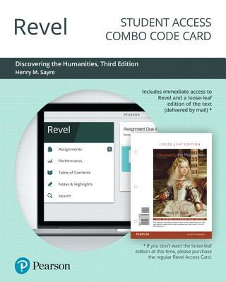 Revel for Discovering the Humanities -- Combo Access Card