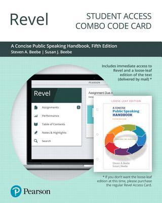 Revel for a Concise Public Speaking Handbook -- Combo Access Card