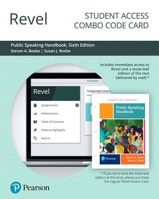 Revel for Public Speaking Handbook -- Combo Access Card
