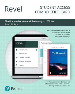Revel for the Humanities: Culture, Continuity, and Change, Volume 1 -- Combo Access Card