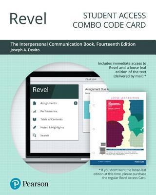 Revel for the Interpersonal Communication Book -- Combo Access Card