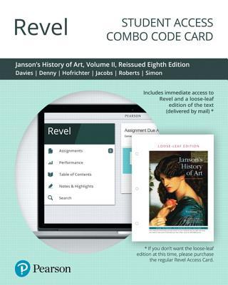Revel for Janson's History of Art: The Western Tradition, Volume 2, Reissued Edition -- Combo Access Card