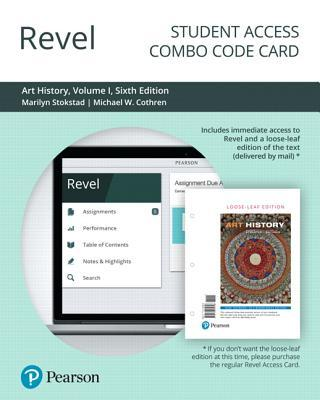 Revel for Art History, Volume 1 -- Combo Access Card