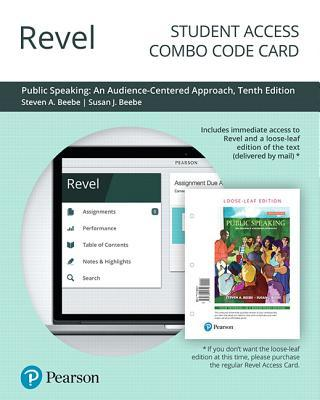 Revel for Public Speaking: An Audience-Centered Approach -- Combo Access Card