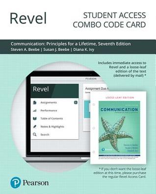 Revel for Communication: Principles for a Lifetime -- Combo Access Card