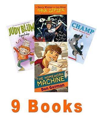 Book Sets for Kids: The Homework Machine; Hank Zipper #10; Joey Pigza Loses Control