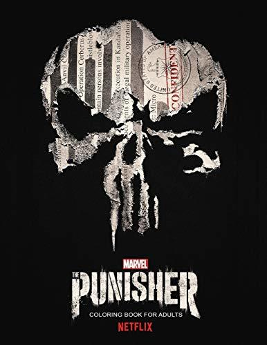 The Punisher Coloring Book: 58 coloring pages!