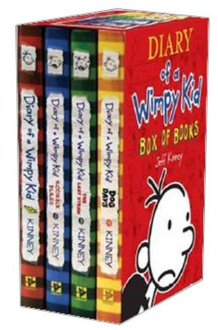 Diary of a Wimpy Kid Box Set 1-4